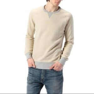 Levi's Cream Original Crew Neck Terry Sweatshirt